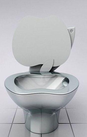 苹果又添新成员创意马桶伤不起化工机械